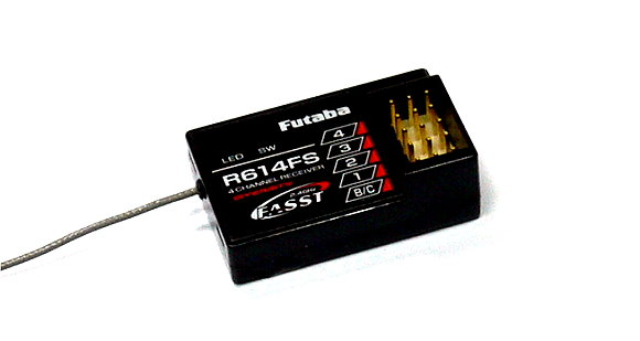 Futaba RC Model R614FS FASST 2.4GHz 4ch R/C Hobby Diversity Receiver RE749