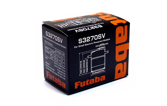 Futaba RC Model S3270SV Servo for R/C Hobby Small Electric Powered Models SF608