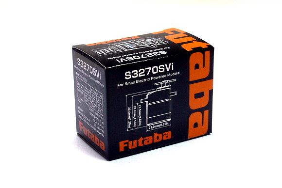 Futaba RC Model S3270SVi Servo for R/C Hobby Small Electric Powered Models SF609
