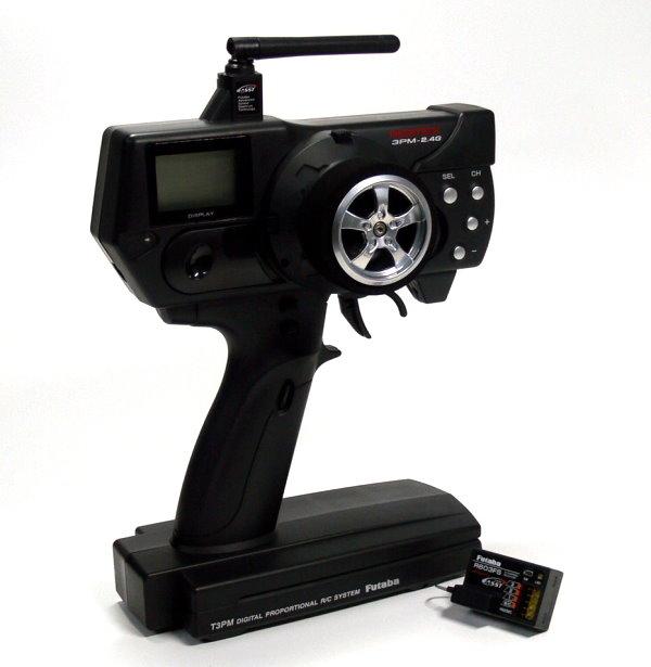 Futaba RC Model 3PM 3ch 2.4GHz R/C Hobby Transmitter & R603FS Receiver TS850