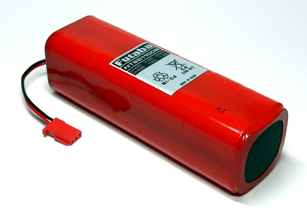 Futaba Model NT8S1100B 1100mAh 9.6V RC Hobby Transmitter Battery FA116