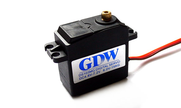 GDW RC Model DS103MG Metal Gear R/C Hobby Digital Servo SS032