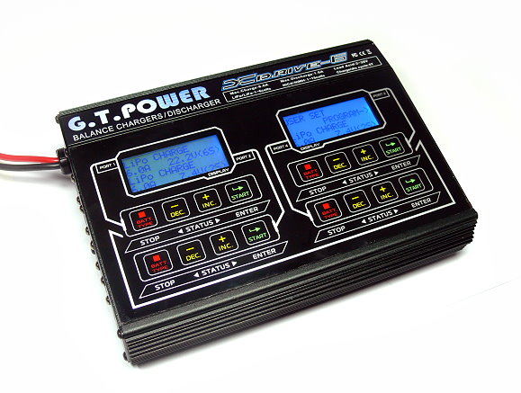 GT POWER Model XDRIVE-6 R/C Hobby Balance Charger / Discharger (B) BC024