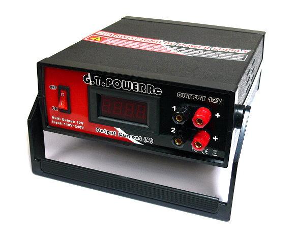 GT POWER RC Model 110V-240V 12V 20A Switching DC Power Supply (EU Plug) PS587
