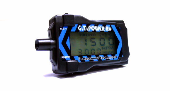 GT POWER RC Model Blue Profession Motor R/C Hobby Tachometer AC678