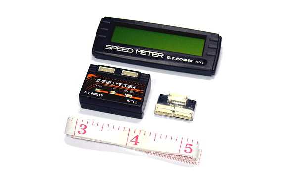 GT Power RC Model Speed Meter R/C Hobby for Car SM599