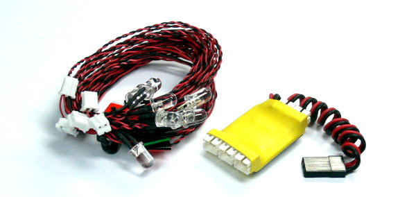 GT POWER RC Model 8 LED System for R/C Hobby Helicopter & Airplane LE853