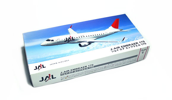 Hasegawa Aircraft Model 1/144 JAL J-Air Embraer 170 Le1 Scale Hobby 11101 H1101