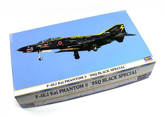 Hasegawa Aircraft Model 1/72 F-4EJ Kai Phantom II 8SQ Black Special 00941 H0941