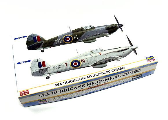 Hasegawa Aircraft Model 1/72 SEA HURRICANE Mk.1B/Mk.IIC Combo 02025 H2025