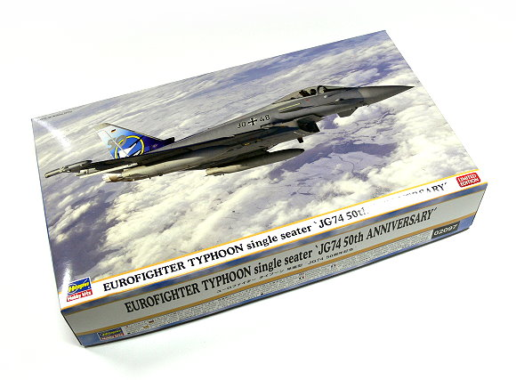 Hasegawa Aircraft Model 1/72 EUROFIGHTER TYPHOON Single Seater 02097 H2097
