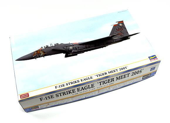 Hasegawa Aircraft Model 1/72 F-15E Strike Eagle Tiger Meet 2005 02119 H2119
