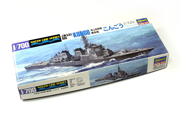 Hasegawa Military Model 1/700 War Ship JMSDF DDG KONGO Hobby 027 H0027