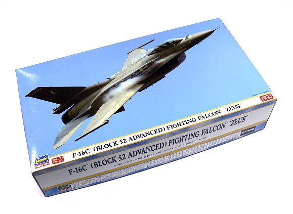 Hasegawa Aircraft Model 1/48 Airplane F-16C Fighting Falcon ZEUS 07308 H7308