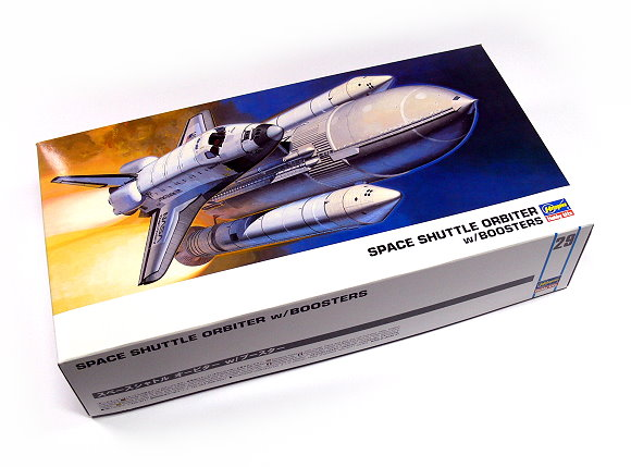 Hasegawa Space Model 1/200 Space Shuttle Orbiter with Boosters Hobby 10729 H0729