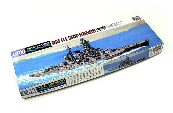 Hasegawa Military Model 1/700 War Ship JAP. Battleship KONGO Hobby 109 H0109