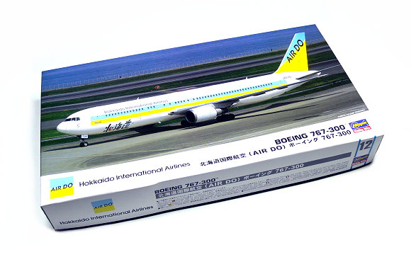 Hasegawa Aircraft Model 1/200 Airplane Boeing 767-300 12 Hobby 10712 H0712