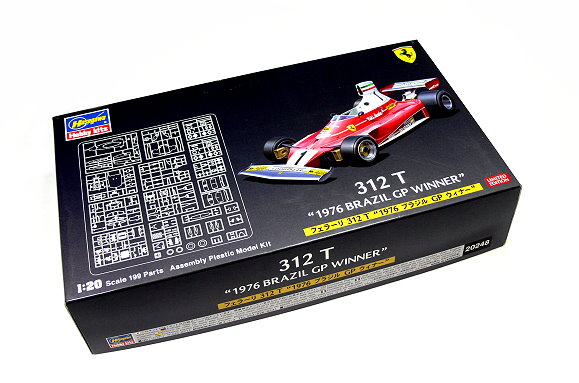 Hasegawa Automotive Model 1/20 Car 312T 1976 Brazil GP Winner 20248 H0248