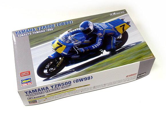 Hasegawa Motorcycle Model 1/12 Motorbike Yamaha YZR500 (OW98) Hobby 21705 H1705