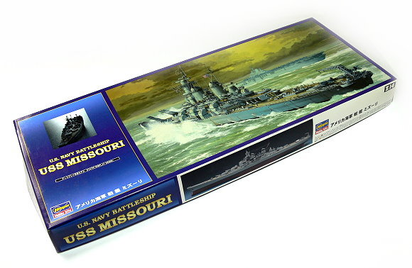 Hasegawa Military Model 1/450 War Ship Battleship USS MISSOURI Z14 40114 H0114