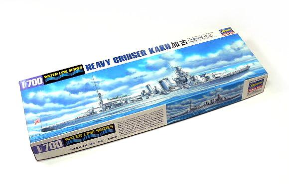 Hasegawa Military Model 1/700 War Ship JAP. Heavy Cruiser KAKO 346 43346 H0346