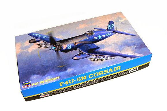 Hasegawa Aircraft Model 1/48 Airplane F4U-5N Corsair Hobby 09075 H9075