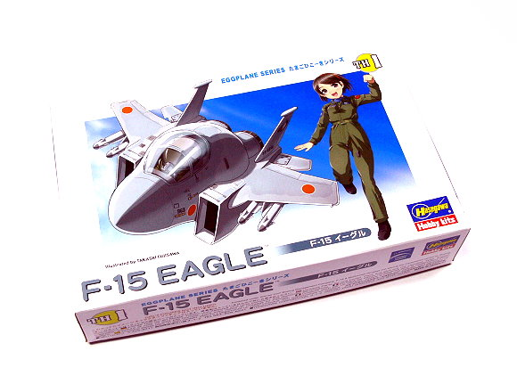 Hasegawa Aircraft Model Eggplane Series F-15 Eagle TH1 Hobby 60101 H0101