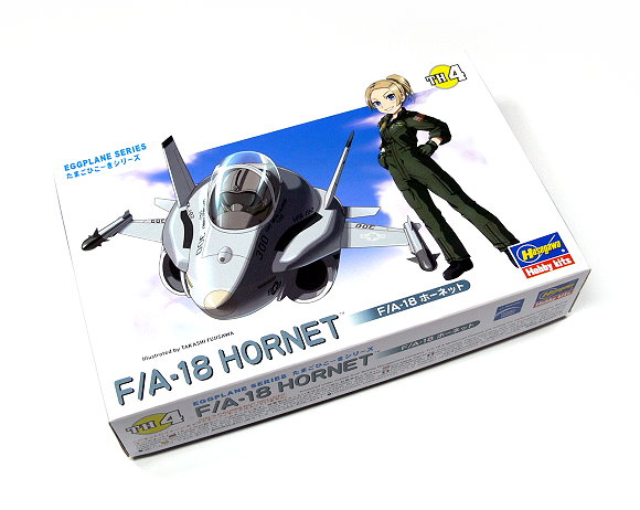 Hasegawa Aircraft Model Eggplane Series F/A-18 HORENT TH4 Hobby 60104 H0104