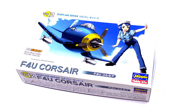 Hasegawa Aircraft Model Eggplane Series F4U CORSAIR TH12 Scale Hobby 60122 H0122