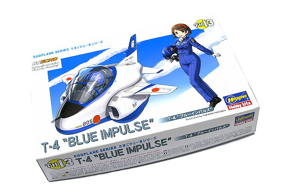 Hasegawa Aircraft Model Eggplane Series T-4 Blue Implulse TH13 Hobby 60123 H0123