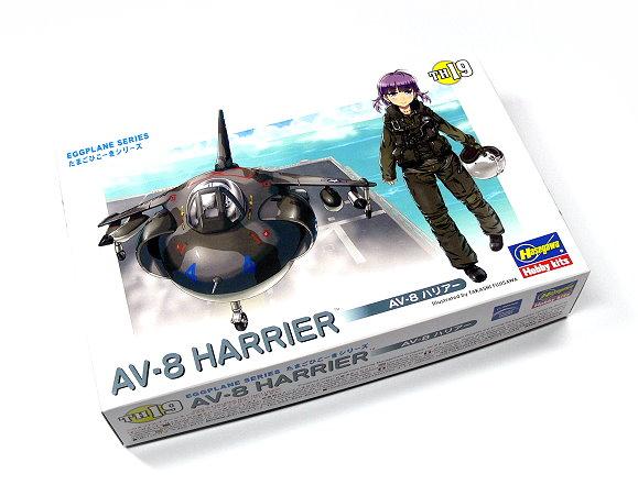 Hasegawa Aircraft Model Eggplane Series AV-8 Harrier TH19 Hobby 60129 H0129