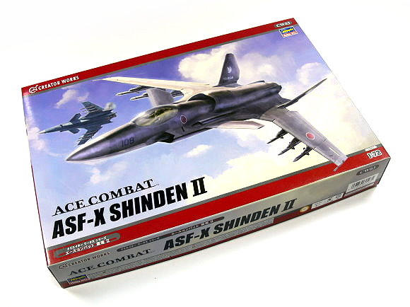 Hasegawa Figure & Anime 1/72 ACE Combat ASF-X Shinden II CW03 64503 H6403