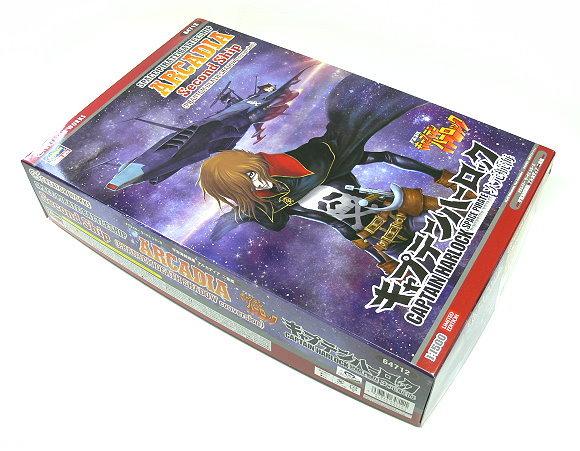 Hasegawa Figure & Anime 1/1500 Space Pirate Battleship ARCADIA 64712 H6412