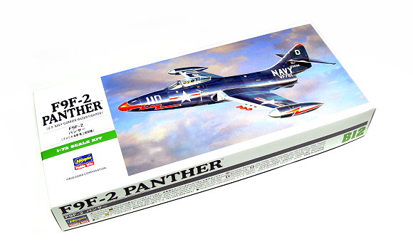 Hasegawa Aircraft Model 1/72 F9F-2 Panther U.S. Carrier-Based B12 00242 H0242