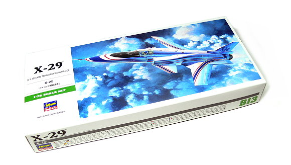 Hasegawa Aircraft Model 1/72 X-29 U.S Technology Demonstrator B13 00243 H0243
