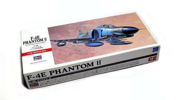 Hasegawa Aircraft Model 1/72 F-4E Phantom II U.S. Air Force C2 Hobby 00332 H0332