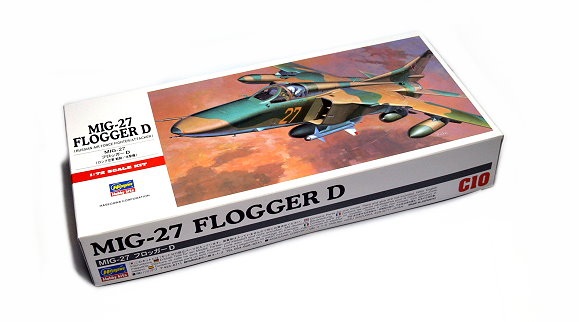Hasegawa Aircraft Model 1/72 MIG-27 Flogger D Russian Air C10 Hobby 00340 H0340