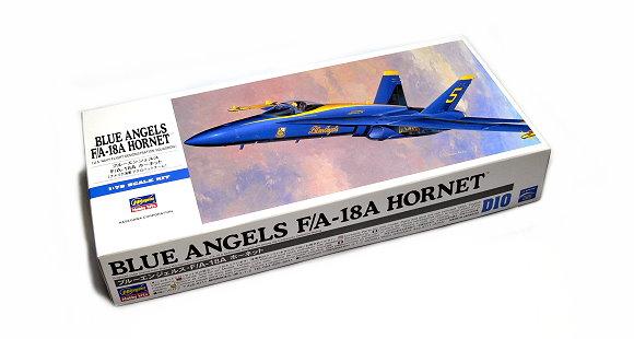 Hasegawa Aircraft Model 1/72 Blue Angels F/A-18A Hornet U.S.Navy D10 00440 H0440
