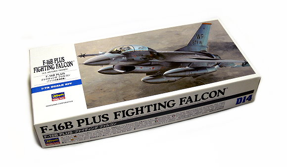 Hasegawa Aircraft Model 1/72 F-16B Plus Fighting Falcon U.S Air D14 00444 H0444