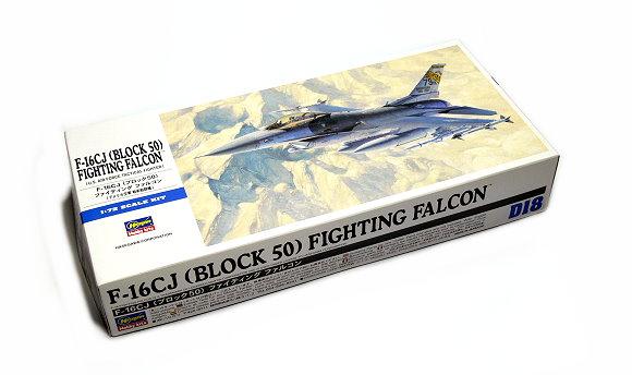 Hasegawa Aircraft Model 1/72 F-16CJ Block 50 Fighting Falcon U.S D18 00448 H0448