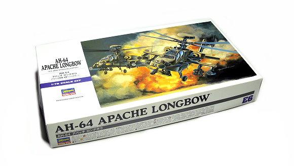 Hasegawa Helicopter Model 1/72 AH-64 Apache Longbow U.S. Army E6 00536 H0536