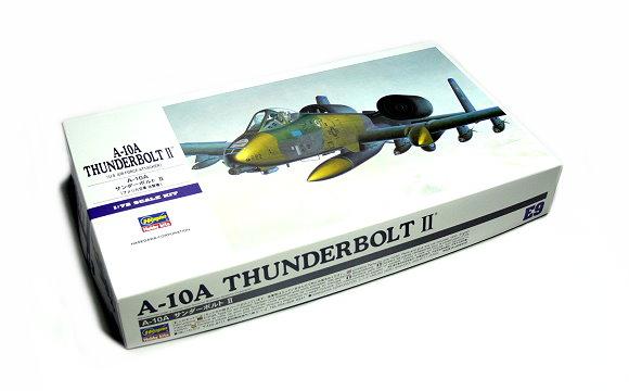 Hasegawa Aircraft Model 1/72 A-10A Thunderbolt II U.S. Air Force E9 00539 H0539