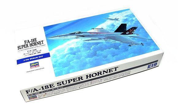 Hasegawa Aircraft Model 1/72 F/A-18E SUPER HORNET U.S. Navy E19 00549 H0549
