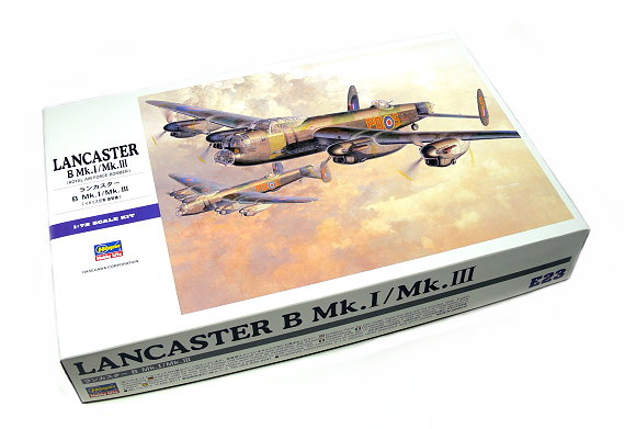 Hasegawa Aircraft Model 1/72 LANCASTER B Mk.I/Mk.III Royal Air E23 00553 H0553