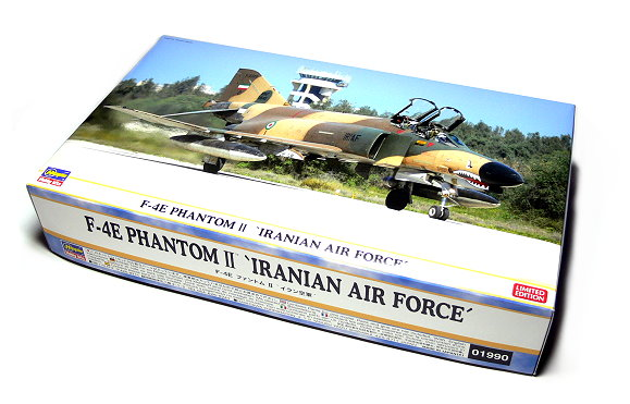 Hasegawa Aircraft Model 1/72 F-4E Phantom II Iranian Air Force 01990 H1990