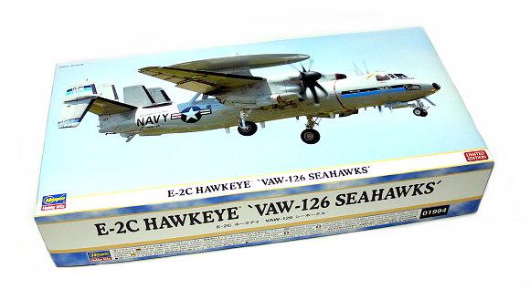 Hasegawa Aircraft Model 1/72 E-2C HAWKEYE Vaw-126 Seahawks 01994 H1994