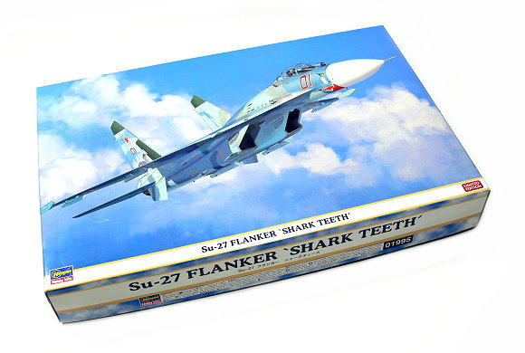 Hasegawa Aircraft Model 1/72 Su-27 FLANKER Shark Teeth Hobby 01995 H1995