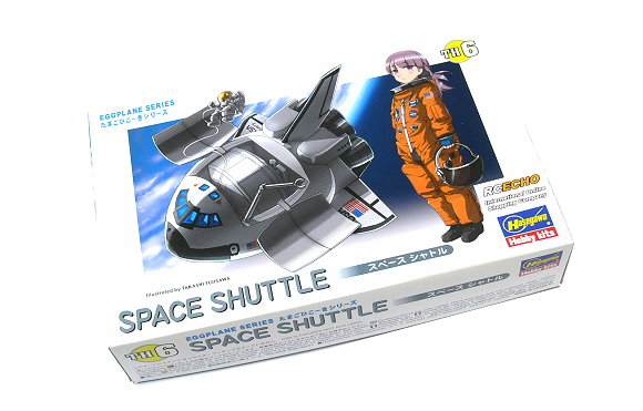 Hasegawa Space Model Eggplane Series Space Shuttle TH6 Hobby 60106 H0106