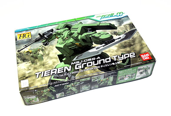 Bandai Hobby Gundam 00 Model 1/144 HG 05 Tieren Ground MSJ-06II-A 0152157 GH336
