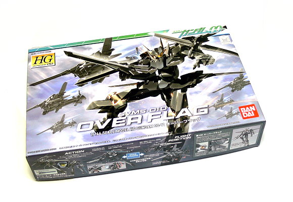 Bandai Hobby Gundam 00 Model 1/144 HG 11 Over Flag SVMS-010 Hobby 0152378 GH360